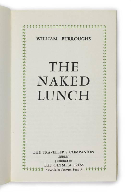 <em>The Naked Lunch</em> by William Burroughs (1959)