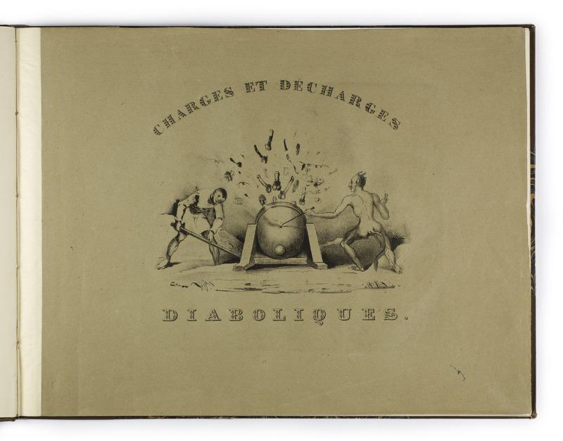 <em>Charges et Décharges diaboliques</em> by Eugène Lepoitevin (1830)