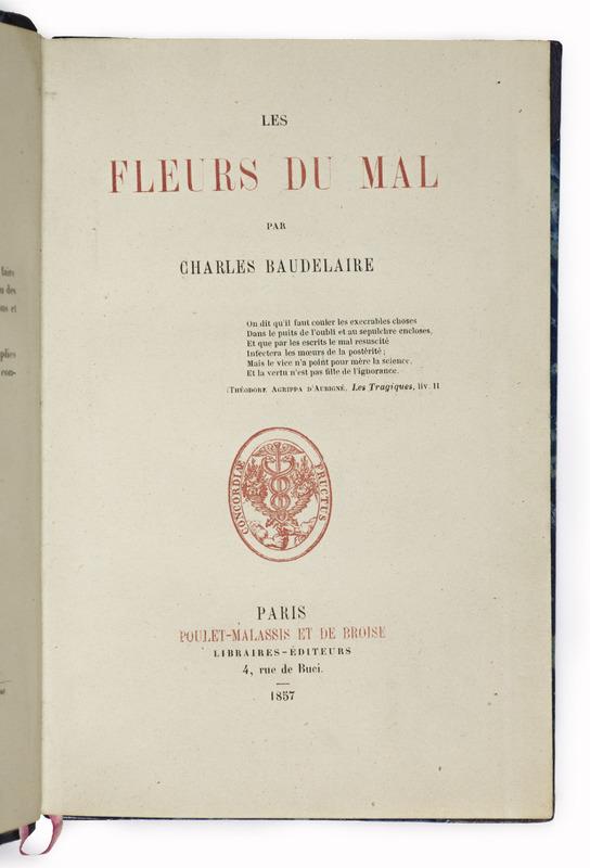 <em>The Flowers of Evil</em> by Charles Baudelaire (1857)