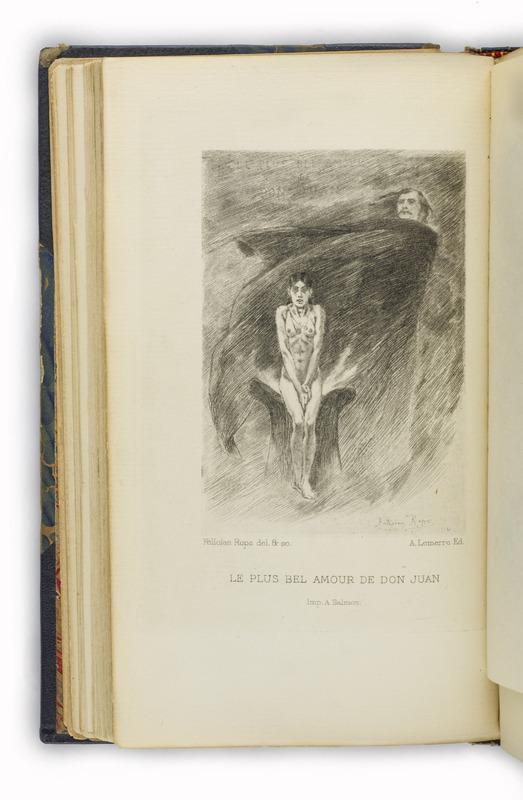 <em>Les Diaboliques</em> by Jules Barbey d'Aurevilly and Félicien Rops (1882)