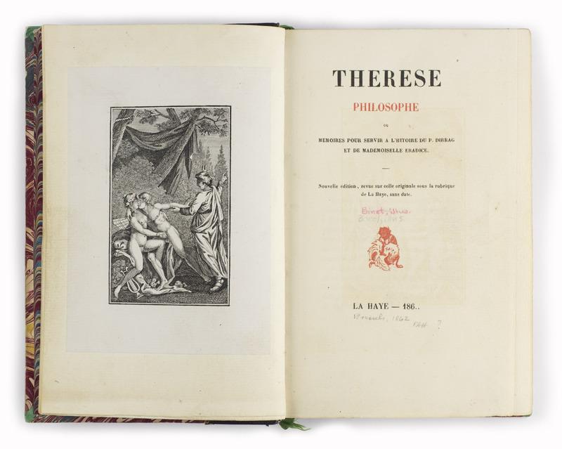 <em>Thérèse philosophe / Therese the Philosopher</em> (1748)