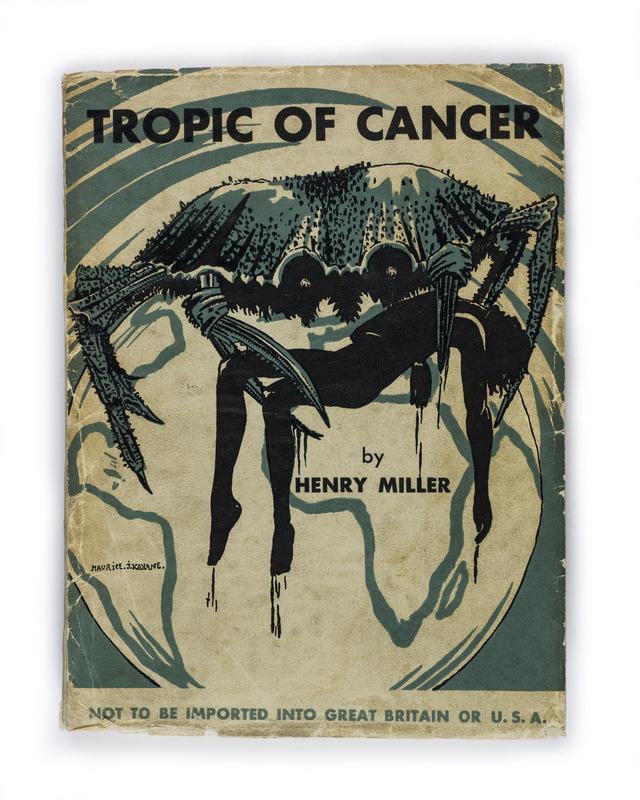 <em>Tropic of Cancer</em> by Henry Miller (1934)