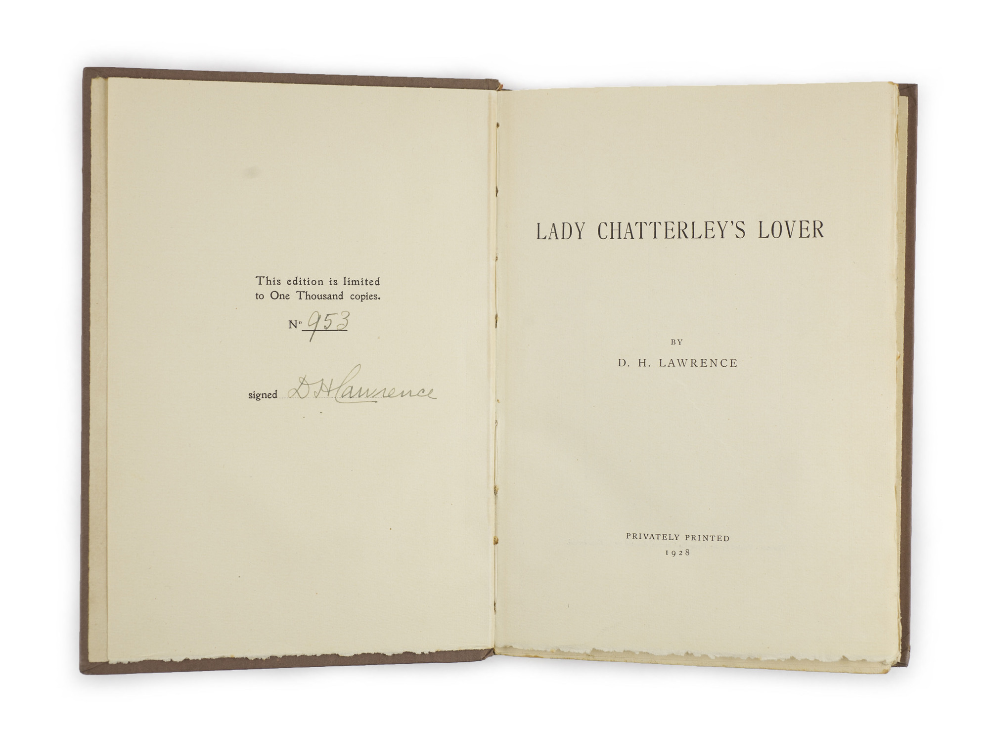 <em>Lady Chatterley's Lover</em> by D.H. Lawrence (1928)