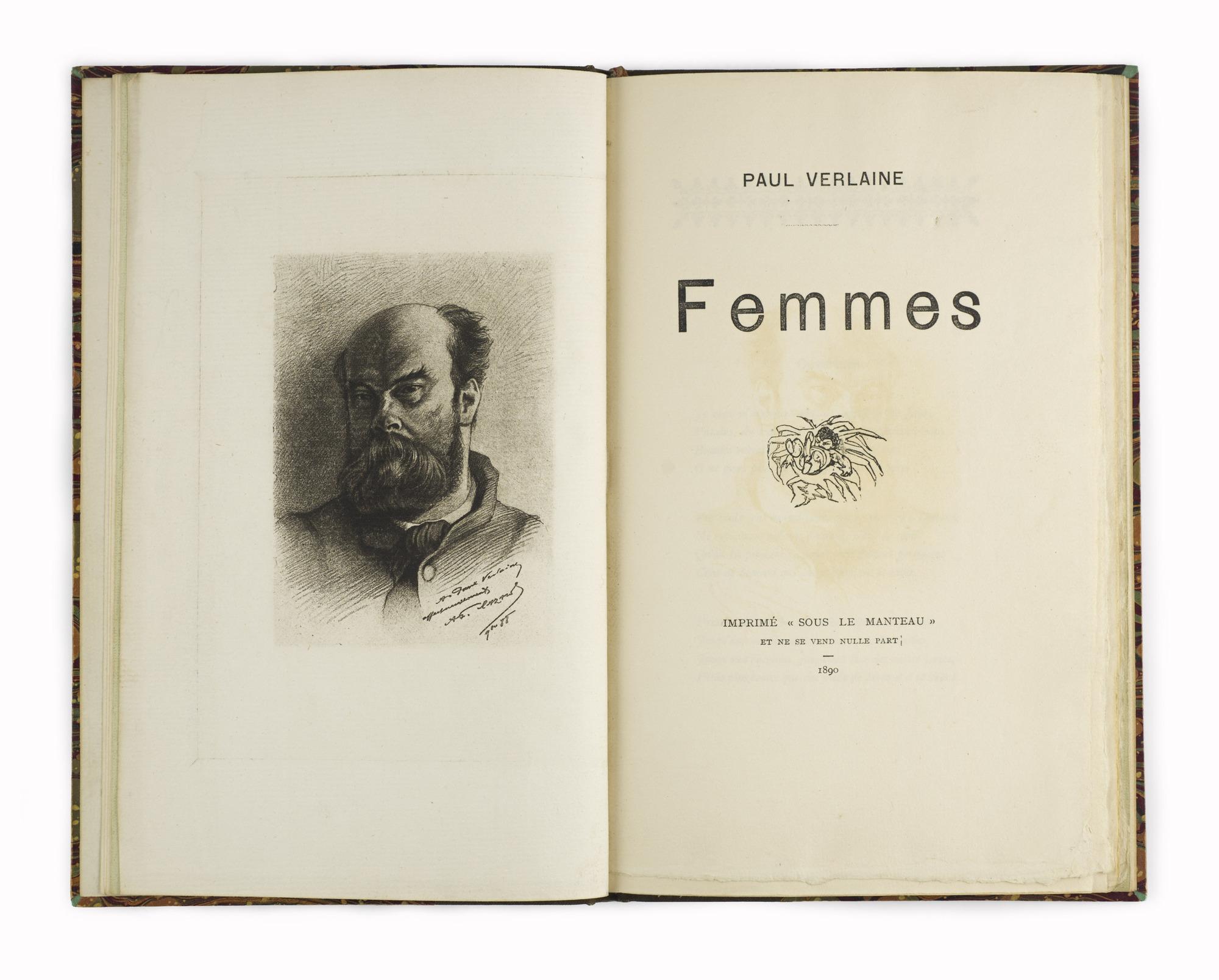 <em>Femmes</em>, <em>Chair</em>, and <em>Hombres</em> by Paul Verlaine (1890-1903)